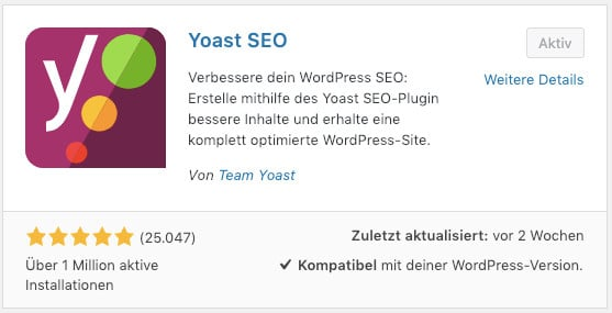 Das WordPress-Plugin Yoast-SEO